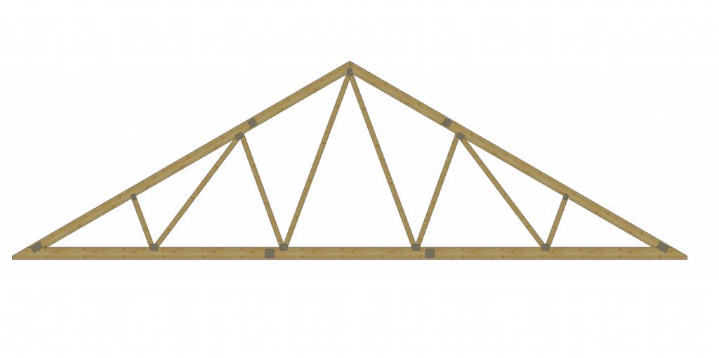 Wiązar podstawowy, symetryczny, trójkątny